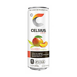 Celsius Sparkling Peach Mango Fitness Drinks