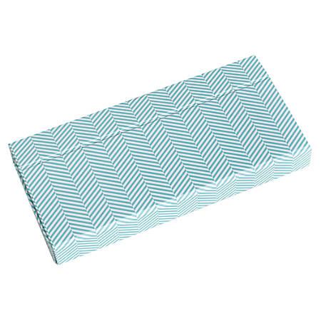 "See Jane Work® Decorative Storage, Supply Box, 1 1/10"" x 8"" x 3 3/4"", Blue"