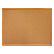 SKILCRAFT Bulletin Board Natural Cork 18