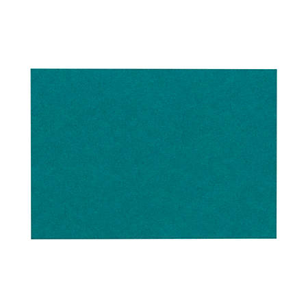 """LUX Flat Cards, A6, 4 5/8"""" x 6 1/4"""", Teal, Pack Of 250"""