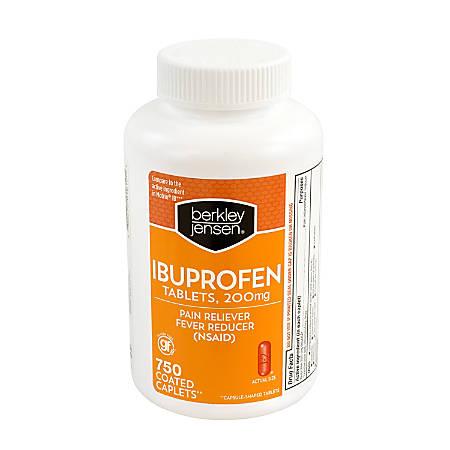 Berkley & Jensen Ibuprofen Tablets, 200 mg, Pack Of 750