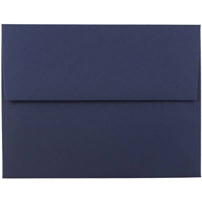 jam paper booklet invitation envelopes a2 4 38 x 5 34 navy blue pack