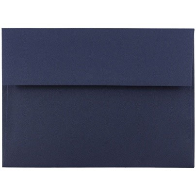 jam paper booklet invitation envelopes a7 5 14 x 7 14 navy blue pack