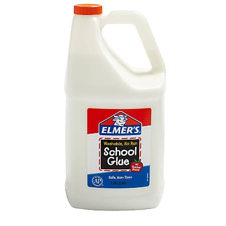 Elmer's® Washable School Glue, 1 Gallon, White