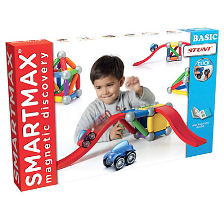 Smart Toys and Games SmartMax® Magnets, Basic Stunt, Pre-K - Grade 3
