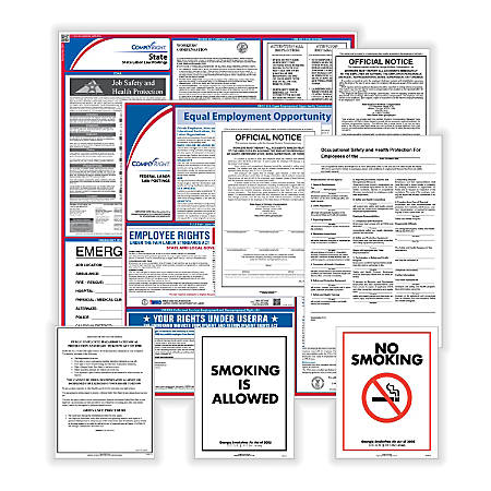 ComplyRight Federal, State And Public Sector Poster Subscription Service, English, Michigan