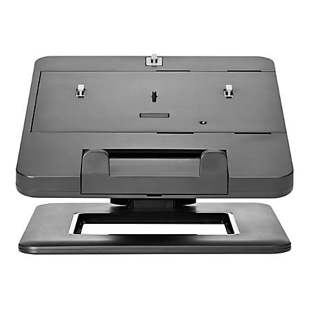 """HP Dual Hinge II Notebook Stand - 12"""" to 17.3"""" Screen Support - 13.60 lb Load Capacity - 8.7"""" Height x 11.8"""" Width x 14.2"""" Depth"""