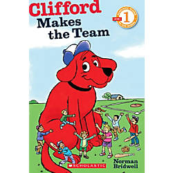 Scholastic Reader Level 1 Clifford Makes