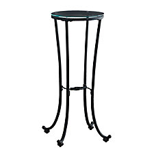 Monarch Specialties Round Plant Accent Table
