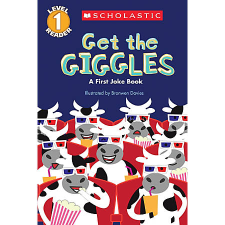 Scholastic Reader, Level 1, Get The Giggles, 2nd Grade
