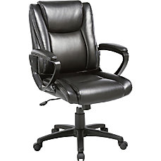 Lorell Soho High back Leather Chair