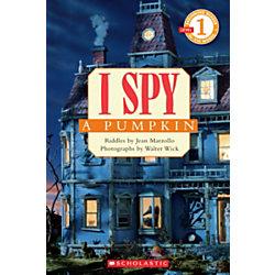 Scholastic Reader, Level 1, I Spy™ A Pumpkin, 3rd Grade