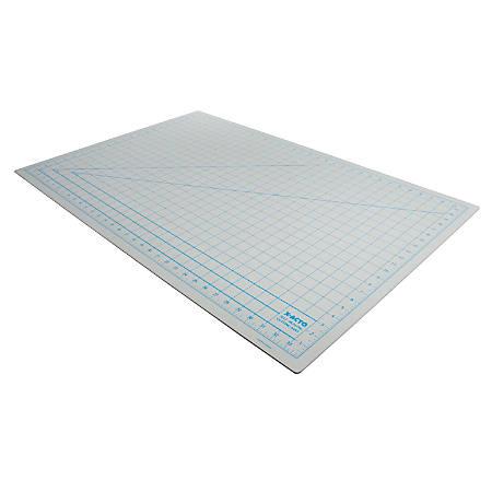 """Elmer's X7763 Self Healing Cutting Mat - 24"""" Length x 36"""" Width x 0.10"""" Depth - Gray"""