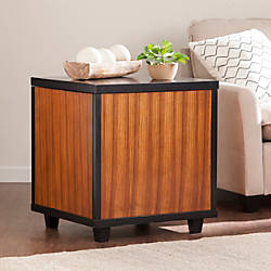 Southern Enterprises Ryecroft Trunk End Table