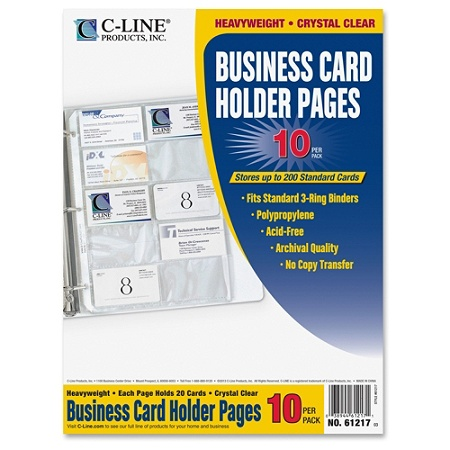C line business card holders without tabs 8 18 x 11 14 3 hole c line business card holders without mouse over to zoom colourmoves
