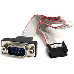 StarTechcom 16in 9 Pin Serial Male