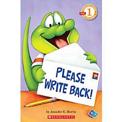 Scholastic Reader Level 1 Please Write