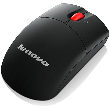Lenovo 0A36188 Mouse - Laser - Wireless - Radio Frequency - 2.40 GHz - USB - 1600 dpi - Tilt Wheel - Symmetrical