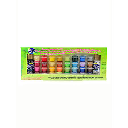DecoArt Americana Acrylic Paint Value Pack, Assorted Colors