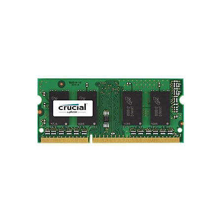 Crucial 16GB (2 x 8 GB) DDR3 SDRAM Memory Module - For Notebook - 16 GB (2 x 8 GB) - DDR3-1866/PC3-14900 DDR3 SDRAM - CL13 - 1.35 V - Non-ECC - Unbuffered - 204-pin - SoDIMM