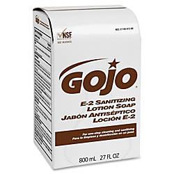Gojo E 2 Sanitizing Lotion Soap