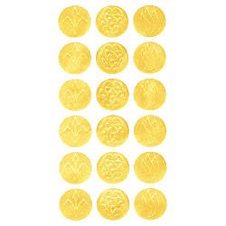 Geographics Gold Embossed Seals 125 Diameter
