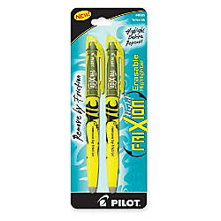 Pilot FriXion Frixion Light Erasable Highlighters