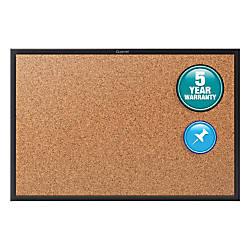 Quartet Cork Bulletin Board 4 x