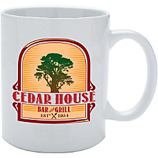 Full Color Ceramic Mug 11 Oz
