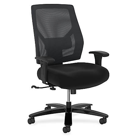 Basyx by HON Big & Tall Mid-Back Task Chair, Black