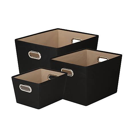 Honey-Can-Do Tote Kit, Black