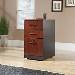 Sauder Via 3 Drawer Pedestal Classic
