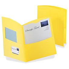 TOPS Oxford Contour Twin Pocket Folders