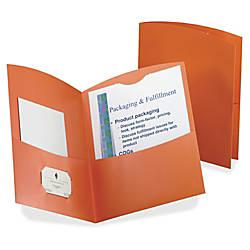 Oxford Contour Two Pocket Folder Letter