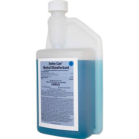 Rochester Midland Enviro Care® Neutral Disinfectant, 32 Oz