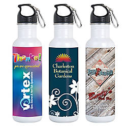 Full Color Digitally Printed Stainless Bottle