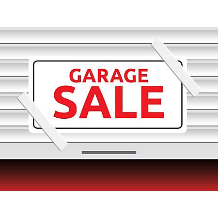 """Customizable Yard Sign, Garage Sale, 18"""" x 24"""""""