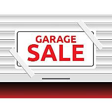 Customizable Yard Sign Garage Sale 18