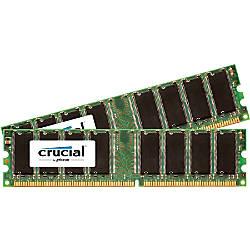 Crucial 1GB 2 x 512 MB