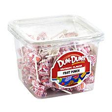 Dum Dum Lollipops Fruit Punch 1