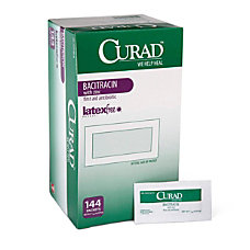 CURAD Bacitracin Ointment 003 Oz Pack