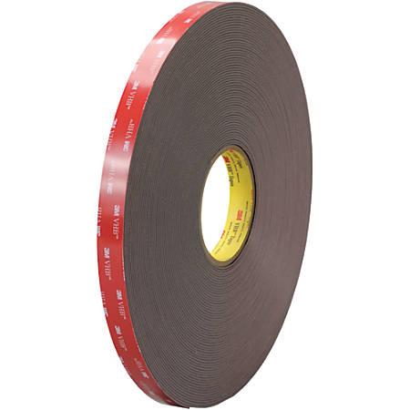 """3M™ VHB™ 4979F Tape, 1.5"""" Core, 0.75"""" x 5 Yd., Black"""