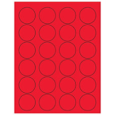 Office Depot Brand Labels LL193RD Circle