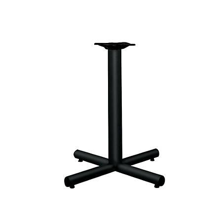 "HON® Single-Column Table Base For 30""-36"" Tops, Black"