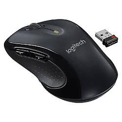 Logitech M510 Wireless Laser Mouse grayblack