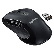 Logitech M510 Wireless Laser Mouse grayblack