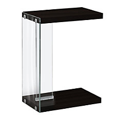 Monarch Specialties Accent Table With Glass