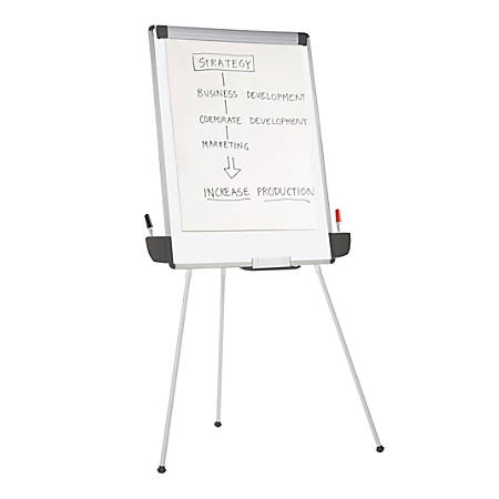 "Office Depot® Brand Tripod Dry-Erase Easel, 29 3/8"" x 44"""