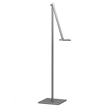 """Koncept Mosso Pro LED Floor Lamp, 43-7/8""""H, Silver"""