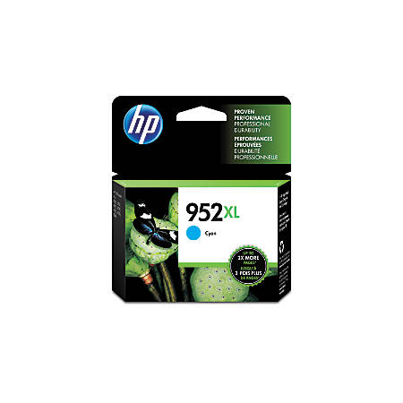HP 952XL High Yield Cyan Ink Cartridge (L0S61AN#140)